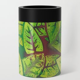 Spring leaves Can Cooler