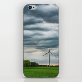 Wind generators iPhone Skin