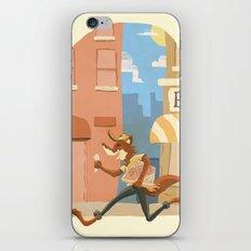 fox on the job iPhone & iPod Skin