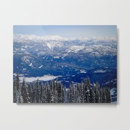 Whistler Mountains Metal Print