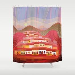 Michoacan Shower Curtain