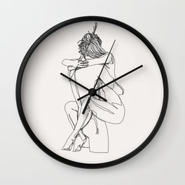 Carried Away Wall Clock