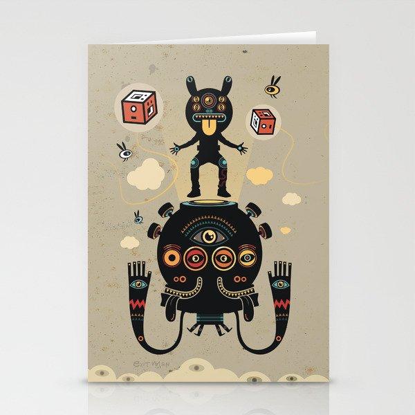 Monstertrap Stationery Cards