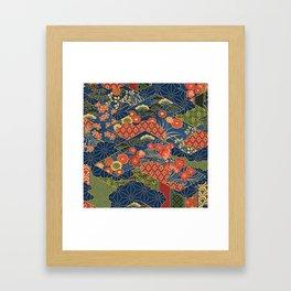 Japan Quilt Framed Art Print