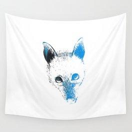 Flying fox face Wall Tapestry