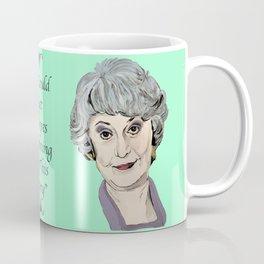 Dorothy Zbornak from The Golden Girls (Green) Coffee Mug