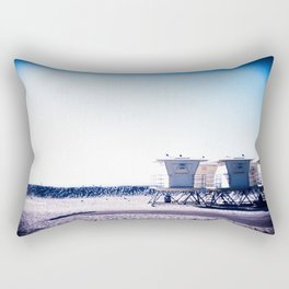 Moonlight Beach Rectangular Pillow