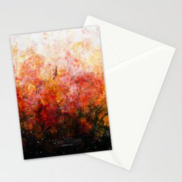 Daybreak - Original Abstract Painting Stationery Cards