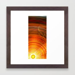 Electric Sun Framed Art Print