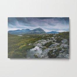 Wester Ross Landscape Metal Print