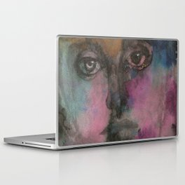 Watercolor Man Laptop & iPad Skin