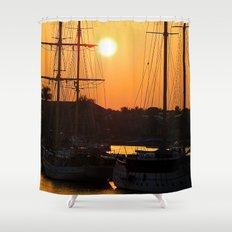 Nadi Harbour, Fiji Shower Curtain