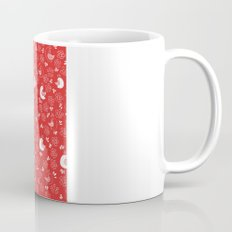 Red Bird Pattern Mug