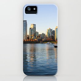 Golden City iPhone Case