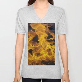 Fire Square Unisex V-Neck