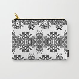 black and white vintage pattern III Carry-All Pouch