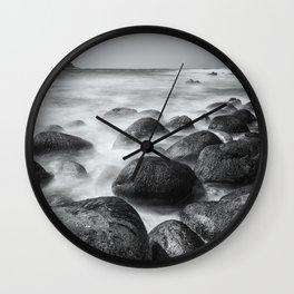 Cot Valley Beach II Wall Clock