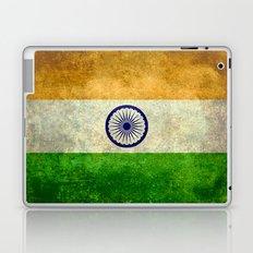 National flag of India - Vintage version Laptop & iPad Skin