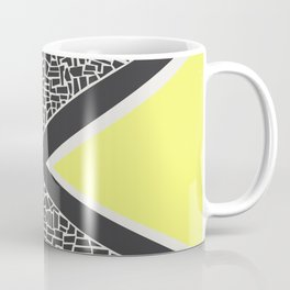 Abstract Mountain Range Coffee Mug