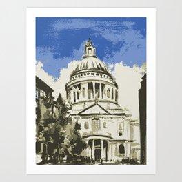 Saint Paul's Cathedral London Art Print