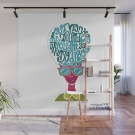 Thoughts Wall Mural