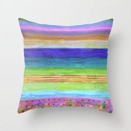 Barbies Dream Beach Throw Pillow