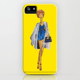 Fashion Drawing Series 3, Pinales Illustrated iPhone Case