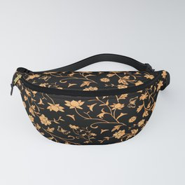 Blue China Inverted Fanny Pack