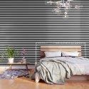 Stripe Black & White Horizontal by beautifulhomes