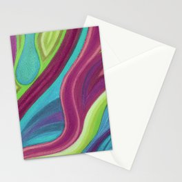 Fragmento de matices de vida Stationery Cards