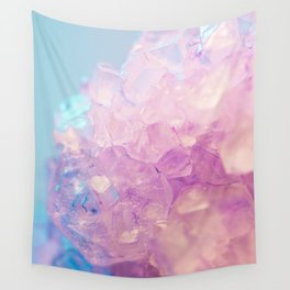 Crystallized Light Colors Wall Tapestry