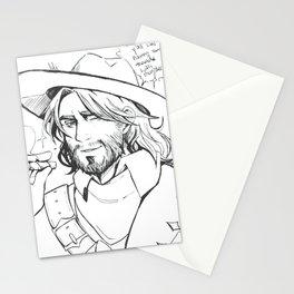 hunting vampires Stationery Cards