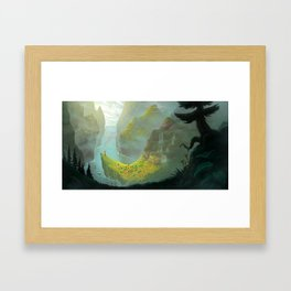 The Village Framed Art Print