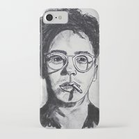 robert downey jr iPhone & iPod Cases featuring Robert Downey Jr. by Haley Erin
