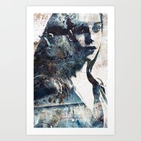 olivia joy Art Prints featuring Olivia by  Maʁϟ