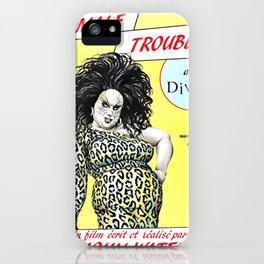 Female Trouble - Divine iPhone Case