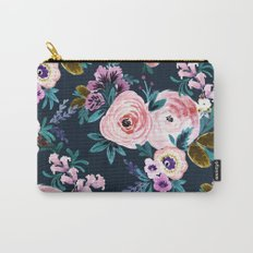 Moody Victoria Flower Carry-All Pouch