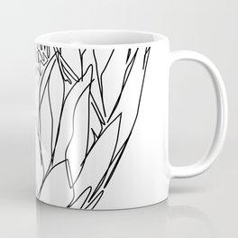 """""""Botanical Collection"""" - Protea Flower Coffee Mug"""