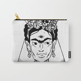 Mystic Frida Carry-All Pouch