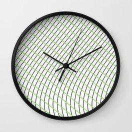Wave Grid Wall Clock