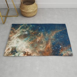 Space Nebula, Star and Space, A View of Galaxy and Outerspace Rug
