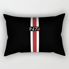Mass Effect | Commander Shepard  Rectangular Pillow