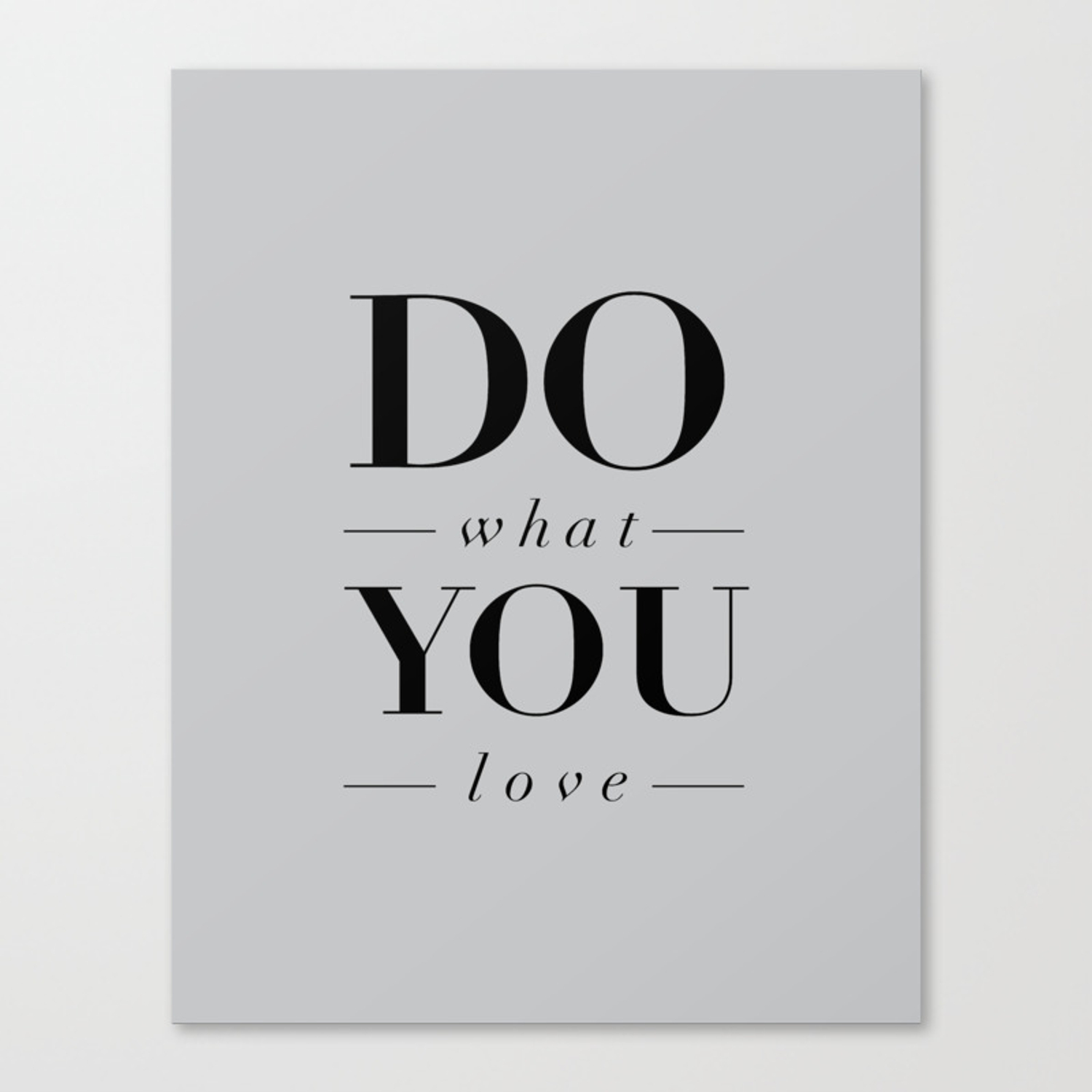 Do What You Love Beautiful Inspirational Short Quote About