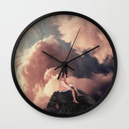 You came from the Clouds Wall Clock