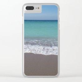 Calm sea Clear iPhone Case