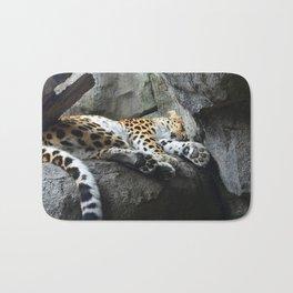 Amur Leopard Bath Mat