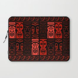 Lava Red Tikis! Laptop Sleeve