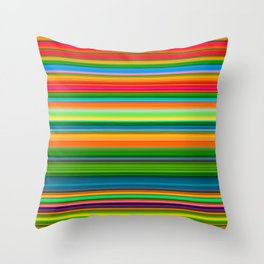 99 Lines Throw Pillow
