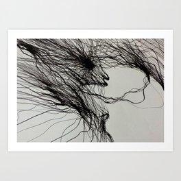 Dark fantasy Art print by Gareth Walsh Art Print