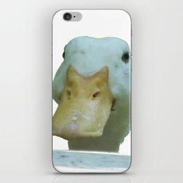 Peeking Duck Vector iPhone Skin